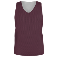 Alleson Lacrosse Reversible Mesh Pinnie - Men's - Maroon / Maroon