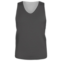 Alleson Lacrosse Reversible Mesh Pinnie - Boys' Grade School - Grey / Grey