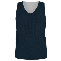 Alleson Lacrosse Reversible Mesh Pinnie - Boys' Grade School - Black / Black