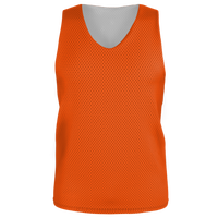 Alleson Lacrosse Reversible Mesh Pinnie - Boys' Grade School - Orange / Orange