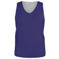 Alleson Lacrosse Reversible Mesh Pinnie - Boys' Grade School - Purple / Purple