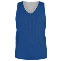 Alleson Lacrosse Reversible Mesh Pinnie - Boys' Grade School - Blue / Blue