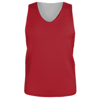 Alleson Lacrosse Reversible Mesh Pinnie - Boys' Grade School - Red / Red