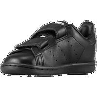 adidas Originals Stan Smith - Boys\u0027 Toddler - All Black / Black