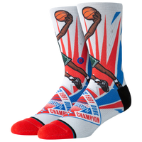 Stance NBA All-Star Game Socks - Men's - NBA All-Star - White / Multicolor