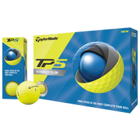 TaylorMade 2019 TP5 Golf Balls - Men's - Yellow
