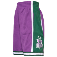 Mitchell & Ness NBA Swingman Shorts - Men's - Milwaukee Bucks - Purple