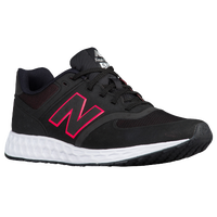 new balance 574 black and pink