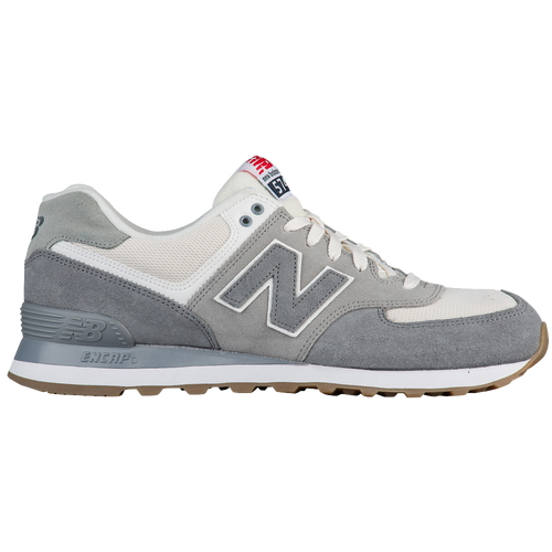 grey new balance 574 mens