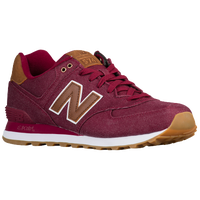 all red new balance 574 mens
