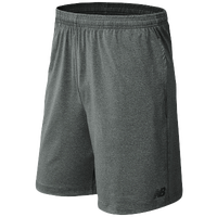 New Balance Tech Shorts - Men's - Grey / Grey