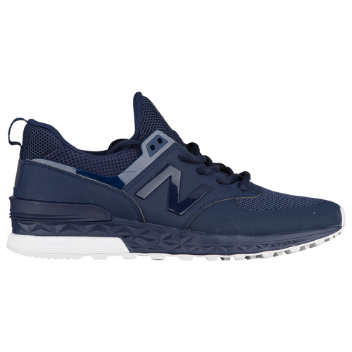 new balance hommes. new balance 574 sport - men\u0027s navy / white hommes