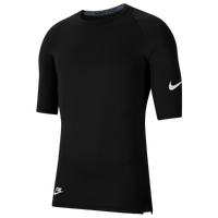 Nike Core 1/2 Sleeve Compression Top - Men's - Black