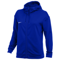 Nike Team Therma Full-Zip Hoodie - Women's - Blue