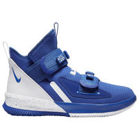 Nike LeBron Soldier XIII SFG - Boys' Grade School -  Lebron James - Blue / White