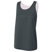 A4 Reversible Tricot Mesh Tank - Women's - Grey
