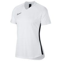 Nike Academy Knit Short Sleeve Top - Women's - White