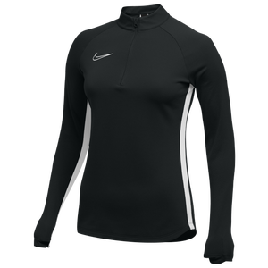 Nike Team Academy 19 Drill Top - Women's - Black/White