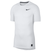 Nike Pro Breathe Compression Short Sleeve Top - Men's - White