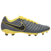 Nike Tiempo Legend 7 Academy FG - Men's - Grey / Yellow