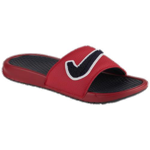 c0853a5d64ae Nike Benassi JDI Chenille Slide - Men s - Casual - Shoes - Gym  Red Obsidian White Dark Obsidian