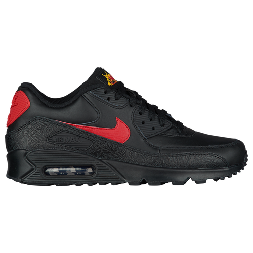 watch 23290 019b1 Nike Air Max 90 - Men s - Casual - Shoes - Black University Red University  Red