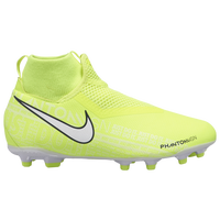Nike Phantom Vision Academy DF FG/MG - Boys' Grade School - Light Green