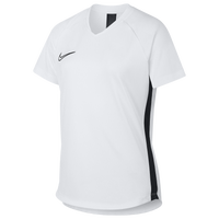 Nike Academy Knit Top - Girls' Grade School - White