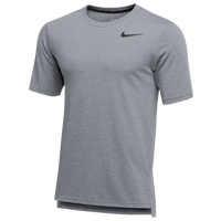 Nike Team Hyper Dry S/S Breathe Top - Men's - Grey