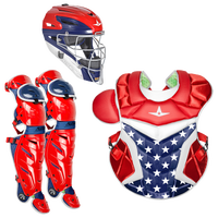 All Star System 7 Catcher's Kit - Adult - Red / White