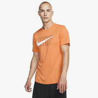 Nike Legend Swoosh T-Shirt - Men's - Orange