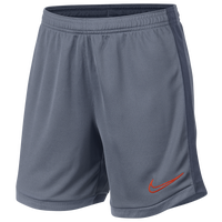 Nike Academy Knit Shorts - Girls' Grade School - Grey