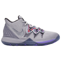 Nike Kyrie 5 - Boys' Grade School -  Kyrie Irving - Grey