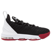 Nike LeBron XVI - Boys' Grade School -  Lebron James - Black / White