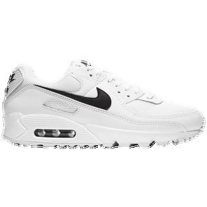 Nike Air Max 90 Women S Casual Shoes White White Black