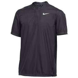 Nike Team Stock S/S Windshirt - Men's - Anthracite/Anthracite/White