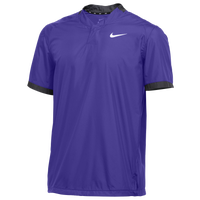 Nike Team Stock S/S Windshirt - Men's - Purple