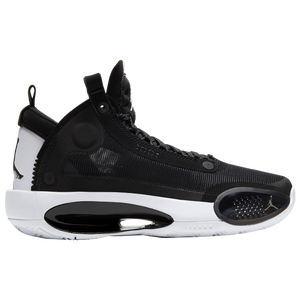Jordan AJ XXXIV - Boys' Grade School - Black/Metallic Silver/Black