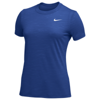 Nike Team Dry Legend Veneer Crew T-Shirt - Women's - Blue