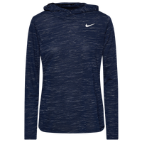 Nike Team Legend Veneer L/S Hoodie - Women's - Navy