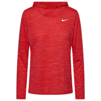 Nike Team Legend Veneer L/S Hoodie - Women's - Red