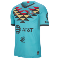 Nike Soccer Breathe Stadium Jersey - Men's - Club America - Aqua