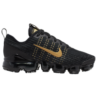 Nike Air VaporMax Flyknit 3 - Boys' Grade School - Black / Gold