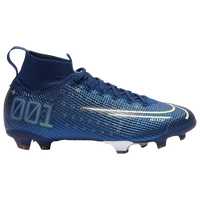 Nike Mercurial Superfly 7 Elite MDS FG - Boys' Grade School - Blue