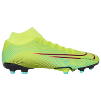 Nike Mercurial Superfly 7 Academy MDS FG/MG - Men's - Light Green
