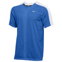 Nike Team Vapor Select Full Button Jersey - Men's - Blue
