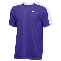 Nike Team Vapor Select Full Button Jersey - Men's - Purple