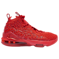 Nike LeBron 17 - Boys' Grade School -  Lebron James - Red