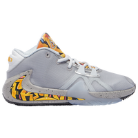 Nike Zoom Freak 1 - Boys' Grade School -  Giannis Antetokounmpo - Grey / Yellow