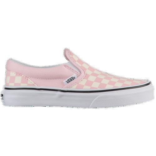 bde230b8472f Vans Classic Slip On - Girls  Preschool - Vans - Casual - Chalk Pink ...